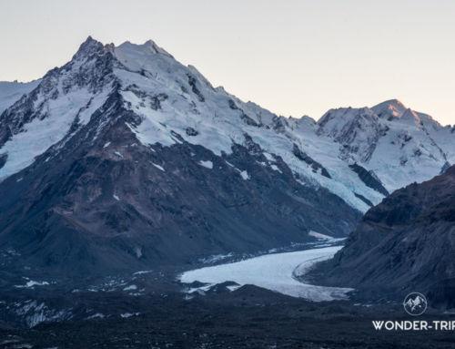 Randonnée de Ball Hut: nuit en refuge au bord du glacier Tasman