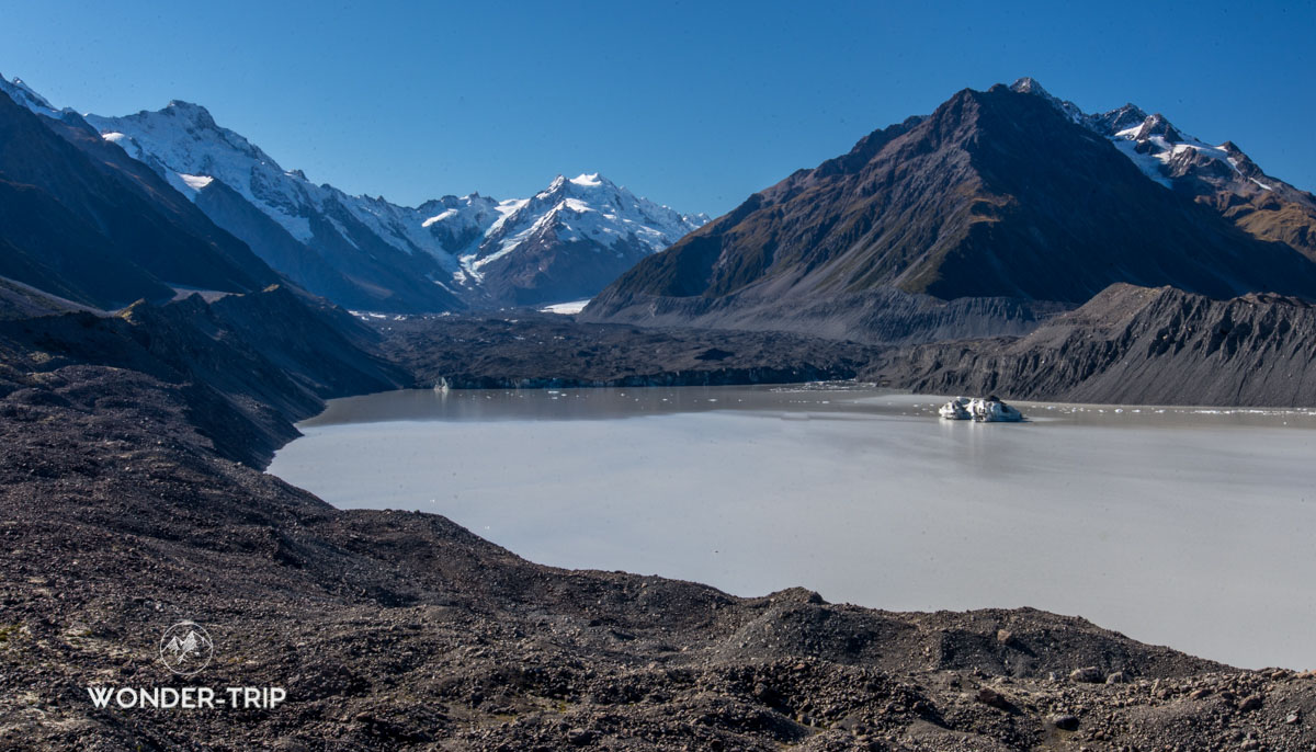 Mont cook - Tasman glacier