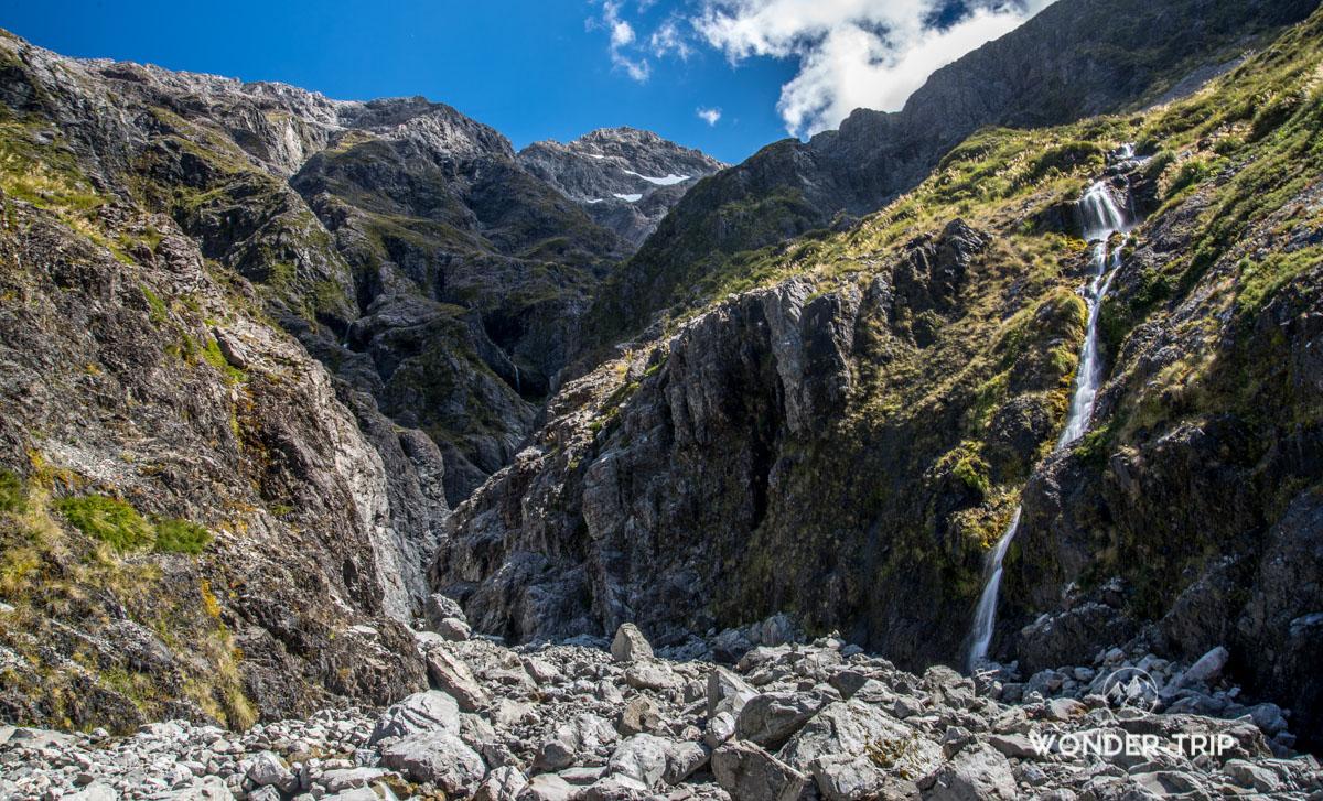 Randonnée de Bealey valley - Arthur's pass