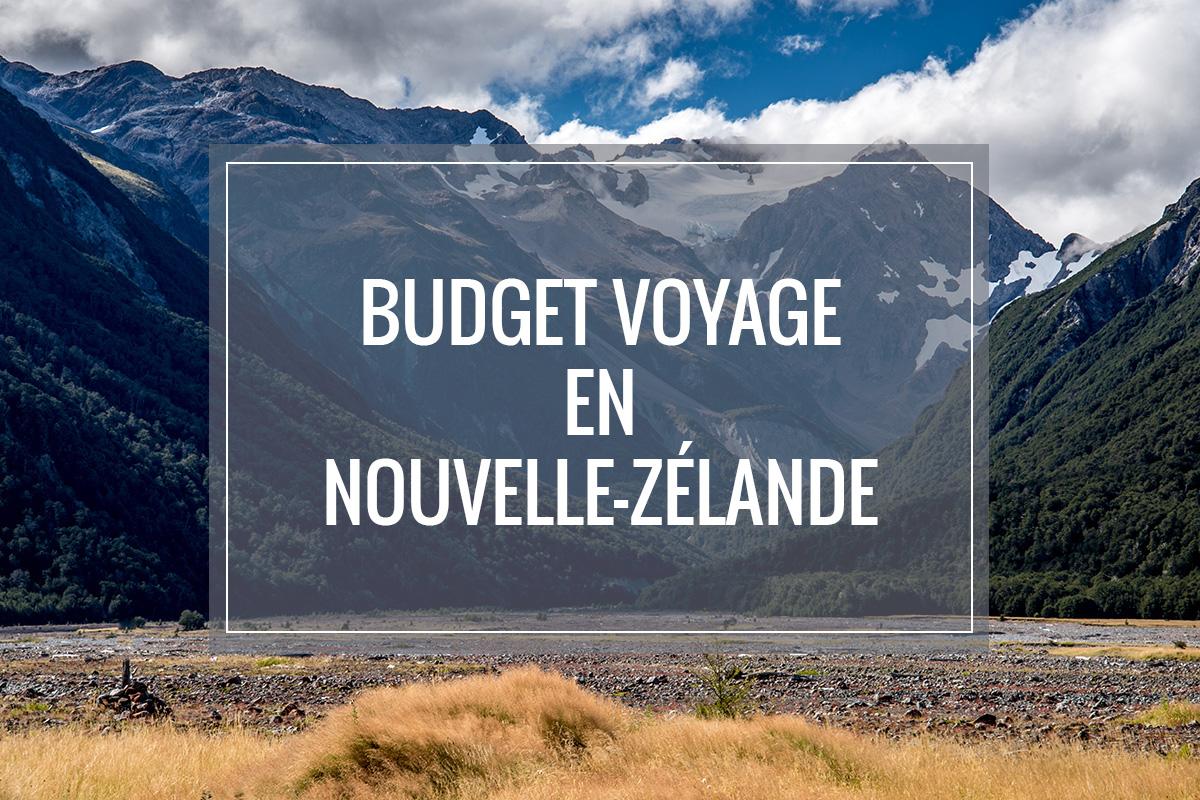 Article sur budget voyage en Nouvelle-Zélande
