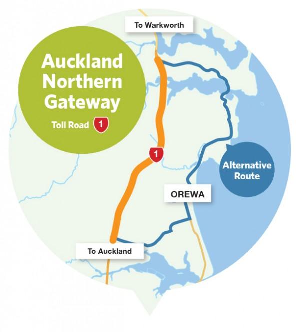 Route à péage de Northern Gateway