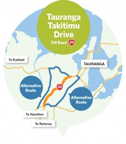 Route à péage de Tauranga Takitimu Drive