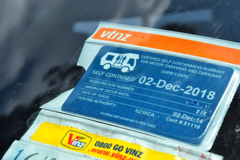 Acheter van Nouvelle-Zélande - Certificat selft-contained