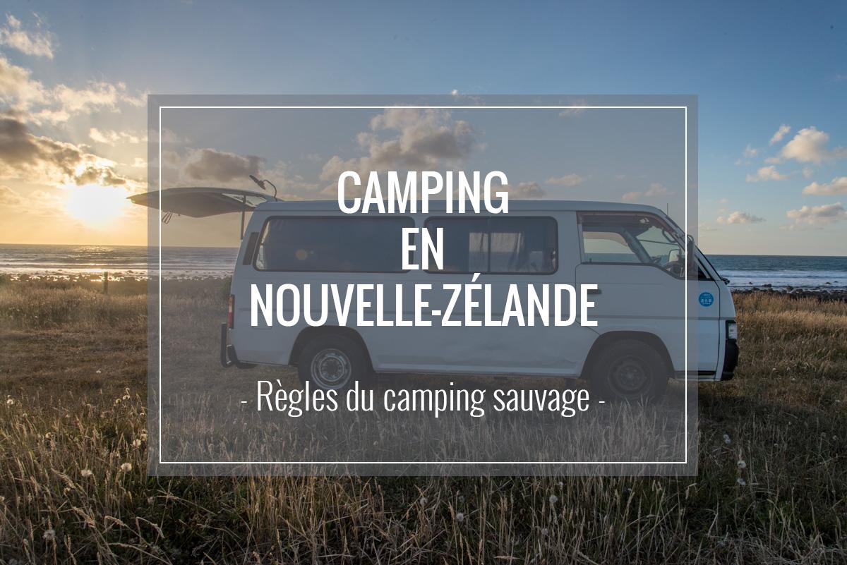 Camping sauvage en Nouvelle-Zélande