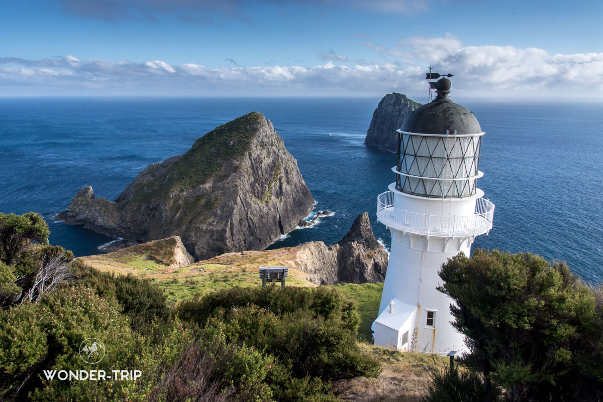 Cape Brett Lighthouse, Bay of islands, Northland, Nouvelle-Zelande