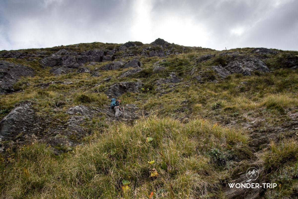 Aspiring national park - Mount Pilon