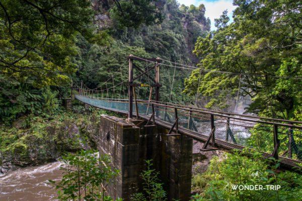 Randonnée de Charming creek
