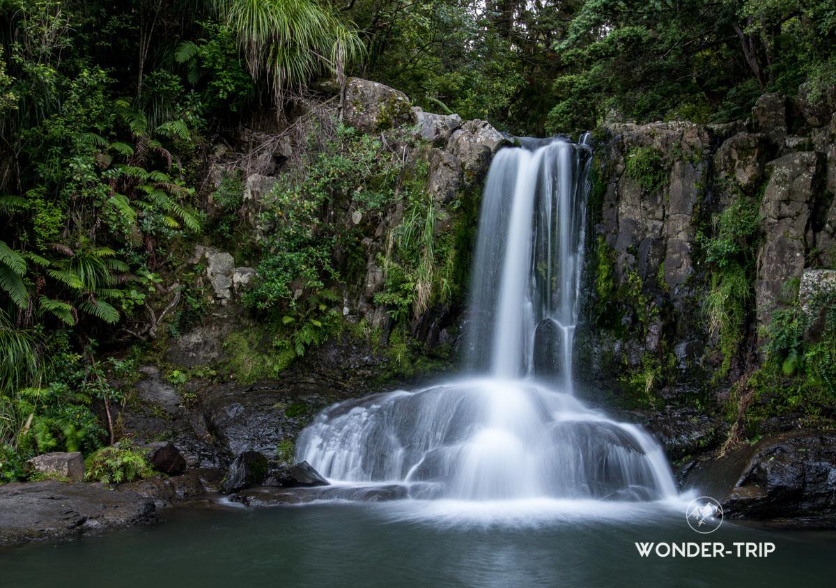 Coromandel route 309 - Chute de Waiau
