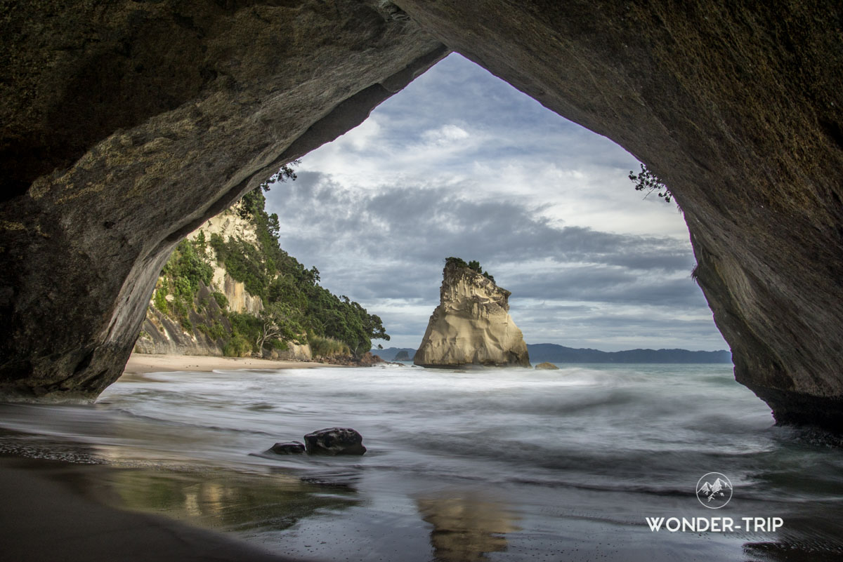 Cathedral cove au Coromandel