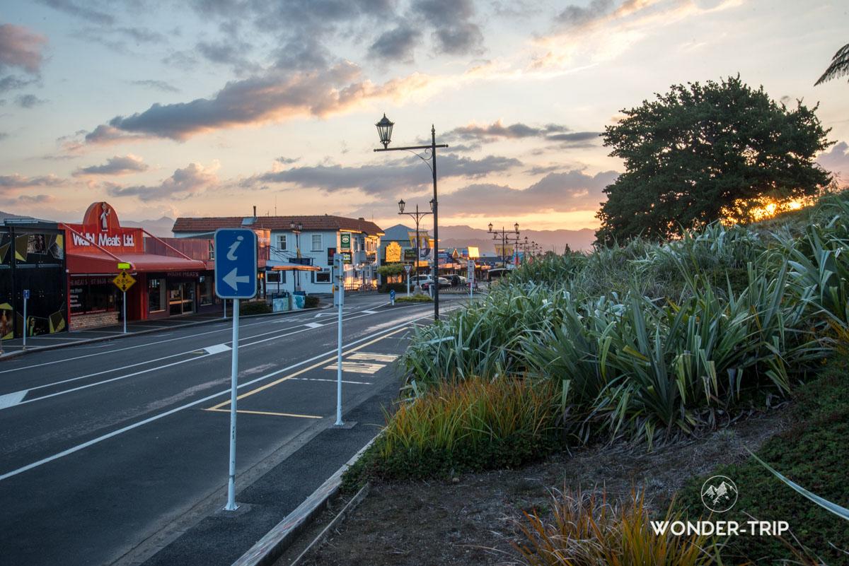 Ville de Waihi au Coromandel