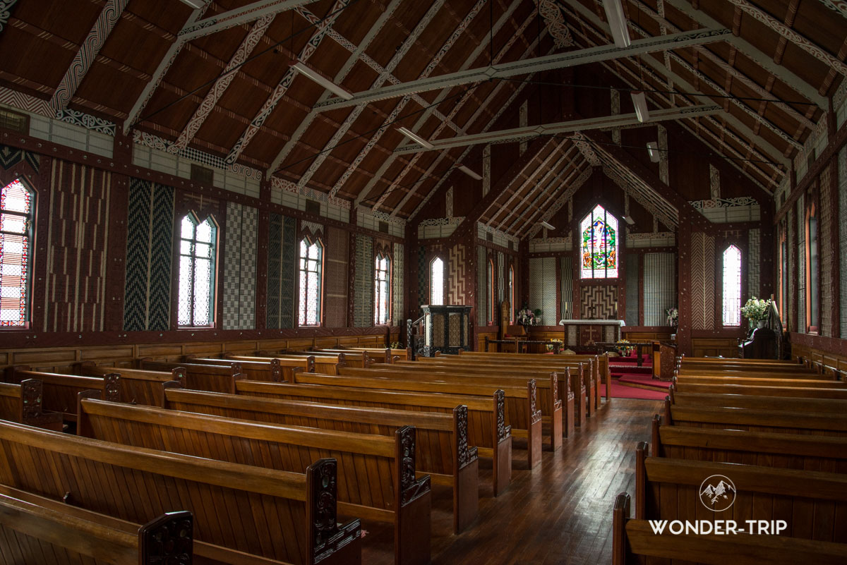 St Mary's Church à Tikitiki
