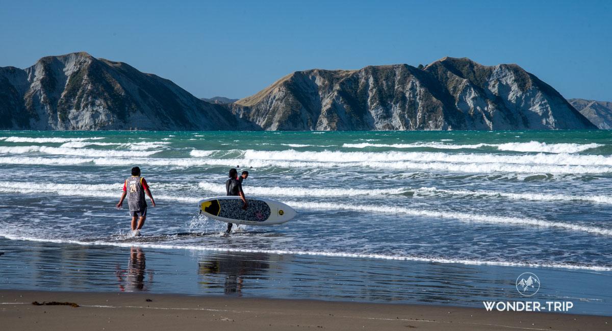 East coast - Tolaga bay