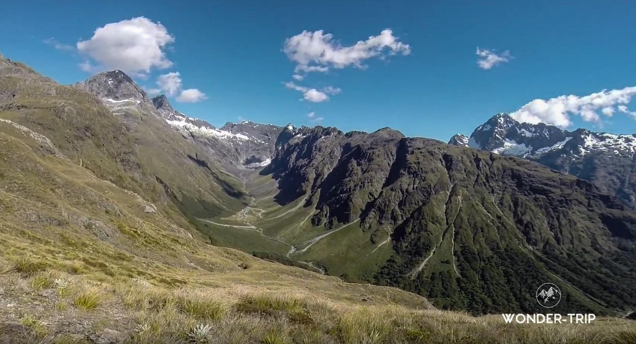 Randonnées parc national Fiordland - Fall creek route