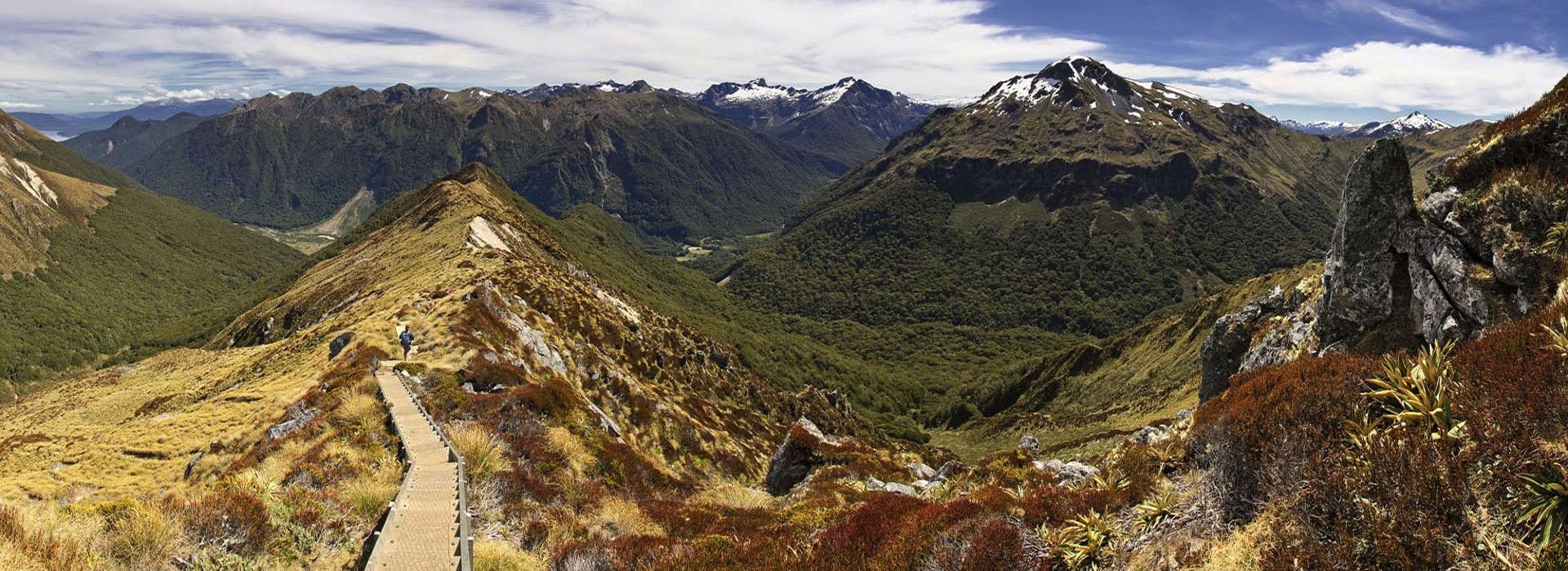 Randonnées parc national Fiordland - Kepler Track