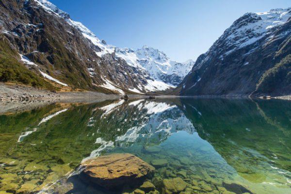 Parc national de Fiordland - Lac marian