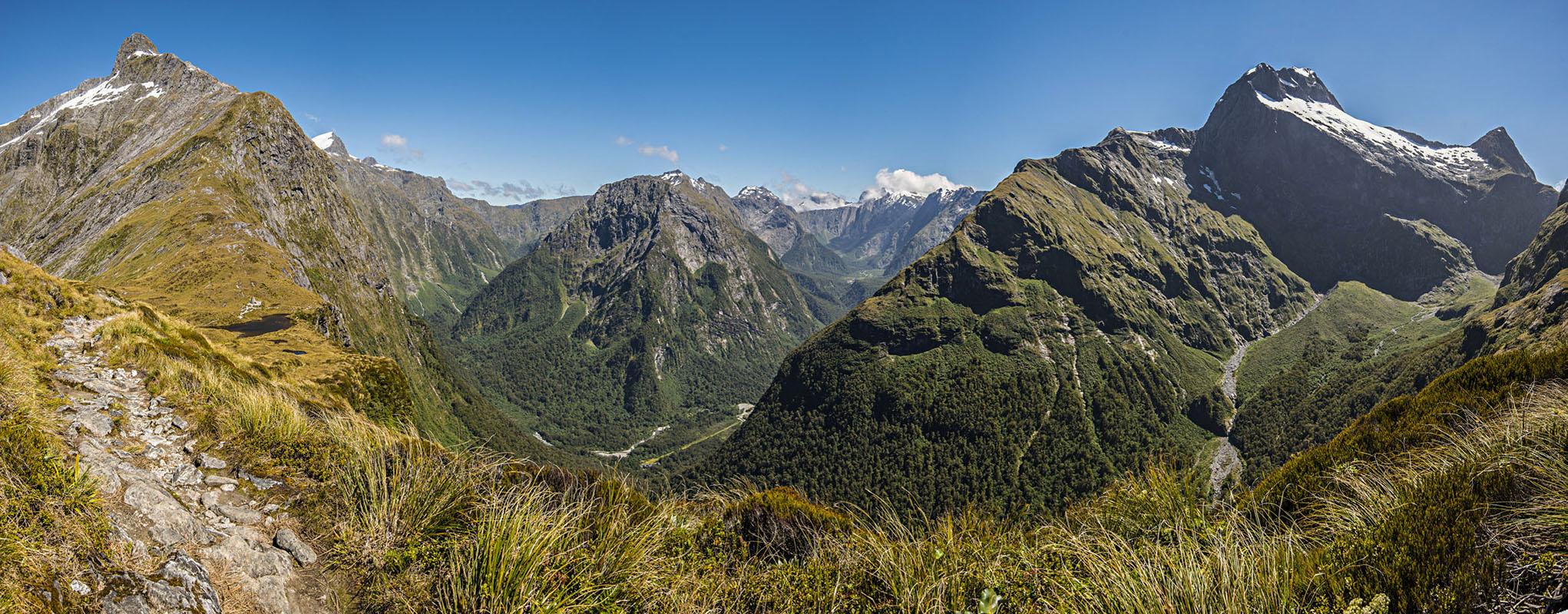 Randonnées parc national Fiordland - Milford track