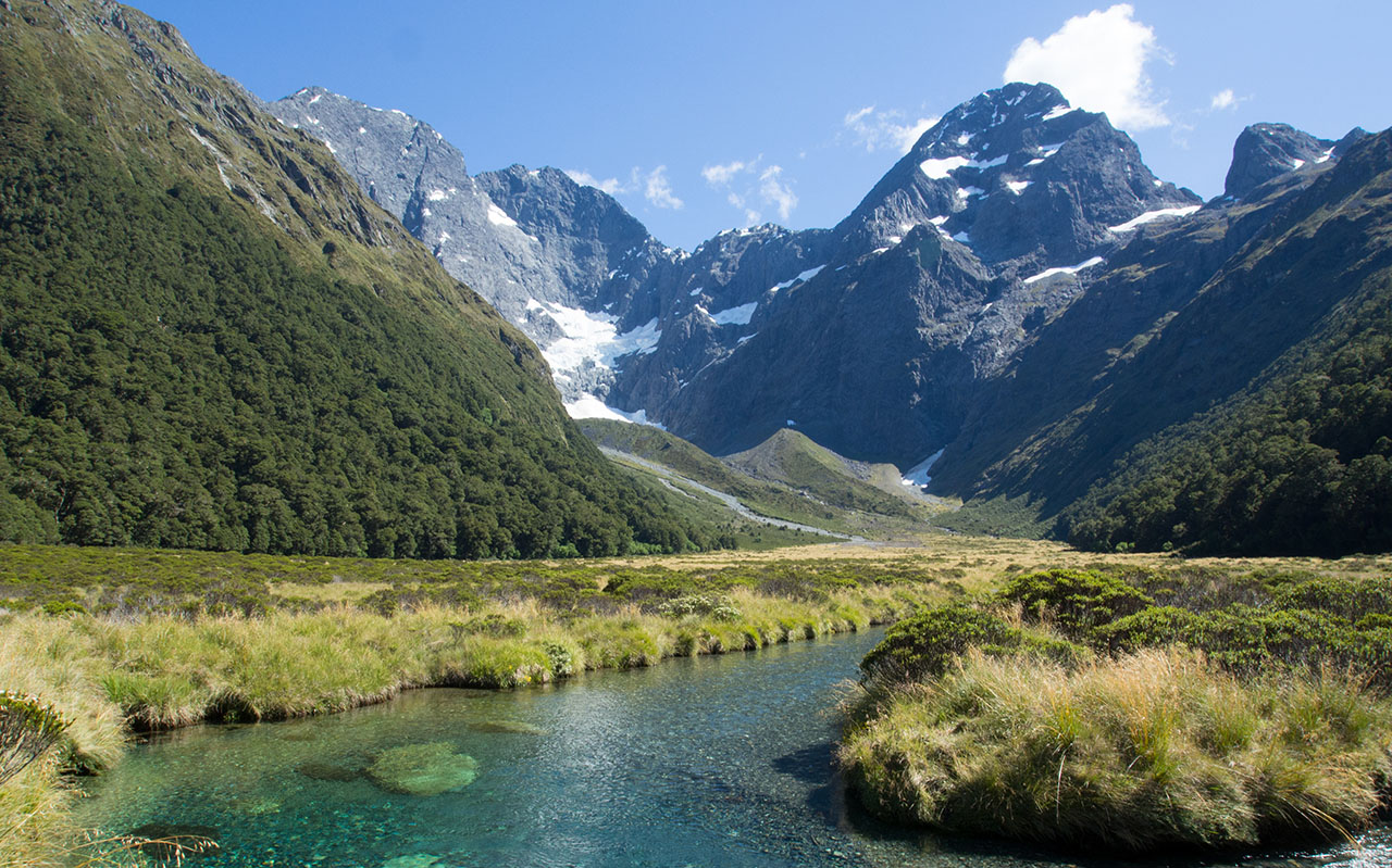 Parc national de Fiordland - Mistake creek