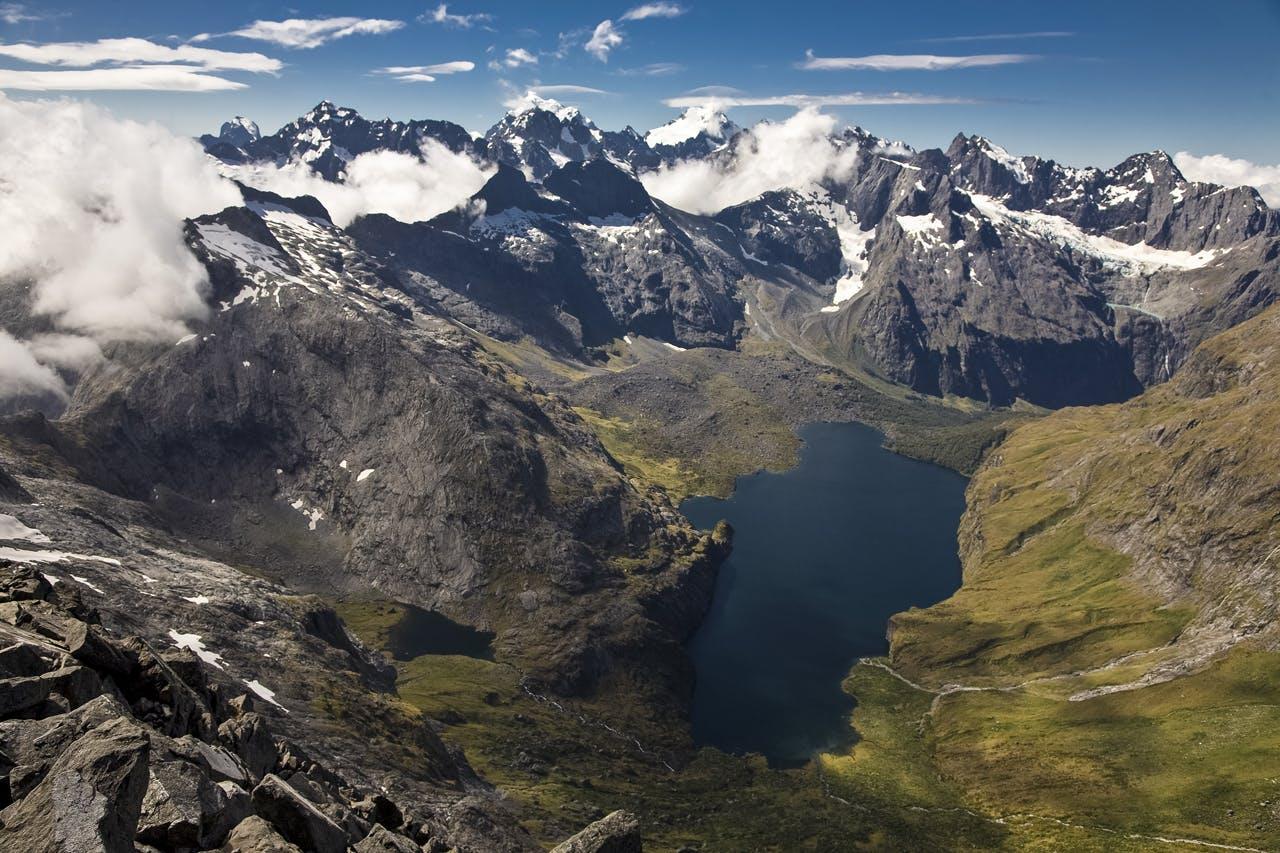 Randonnées parc national Fiordland - Moraine creek route