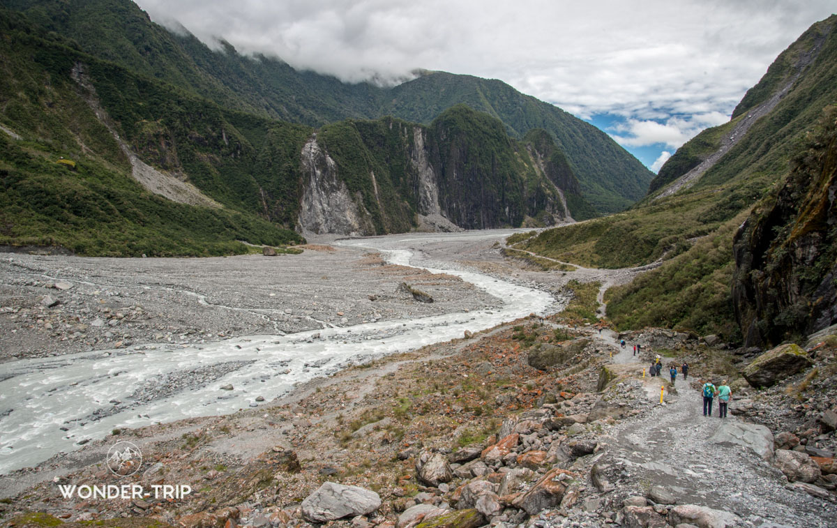 Meilleures randonnées glacier Fox - West coast - Glacier Fox valley track