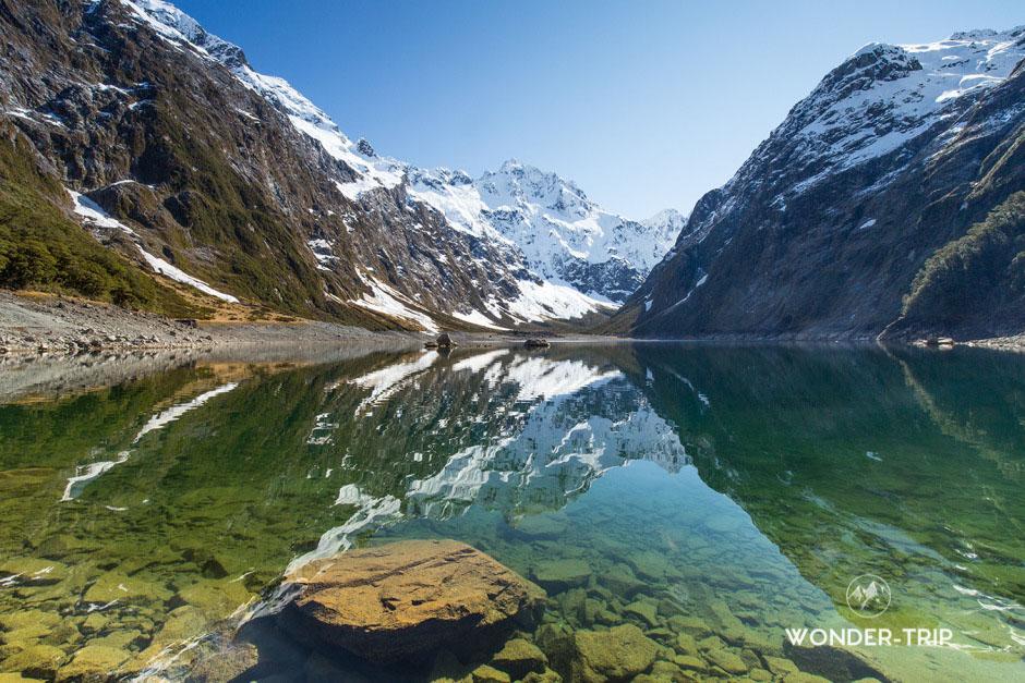 Randonnée du lac Marian