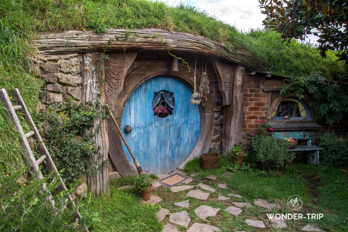 Hobbiton Village hobbits - Maison Hobbits