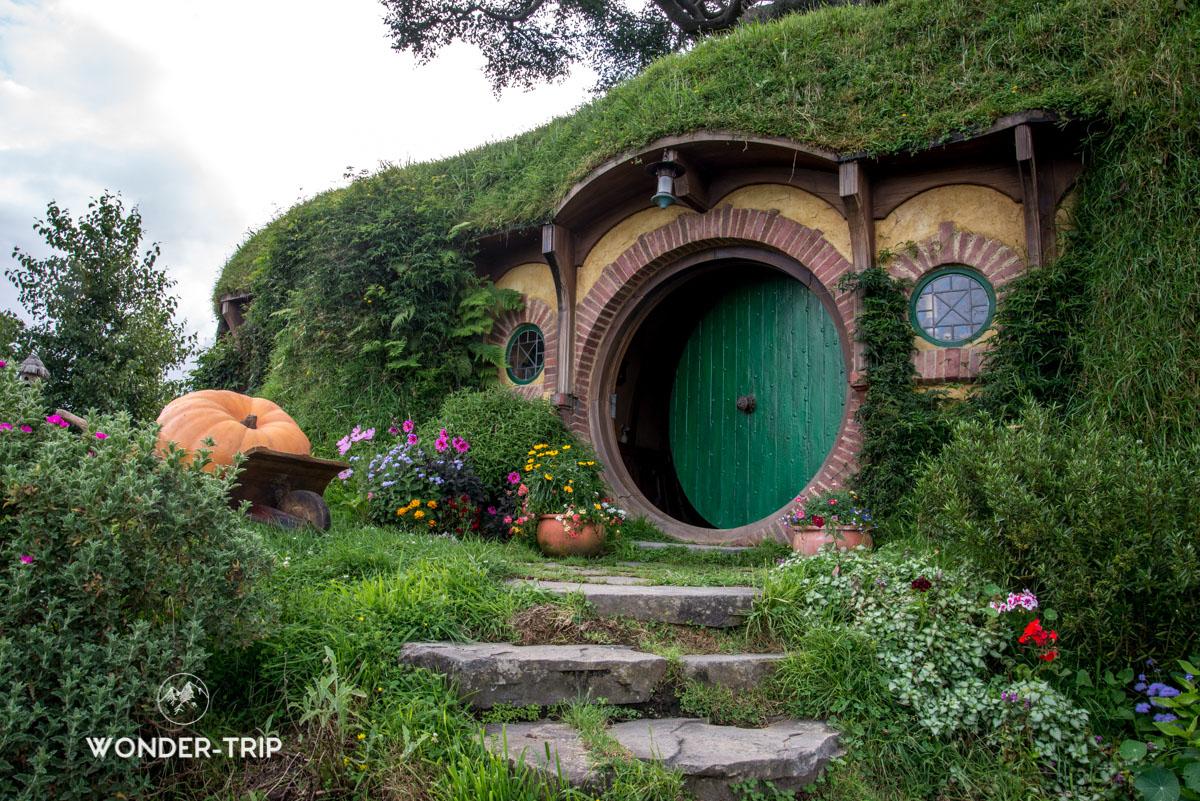 Hobbiton Village hobbits - Maison de Bilbo Sacquet