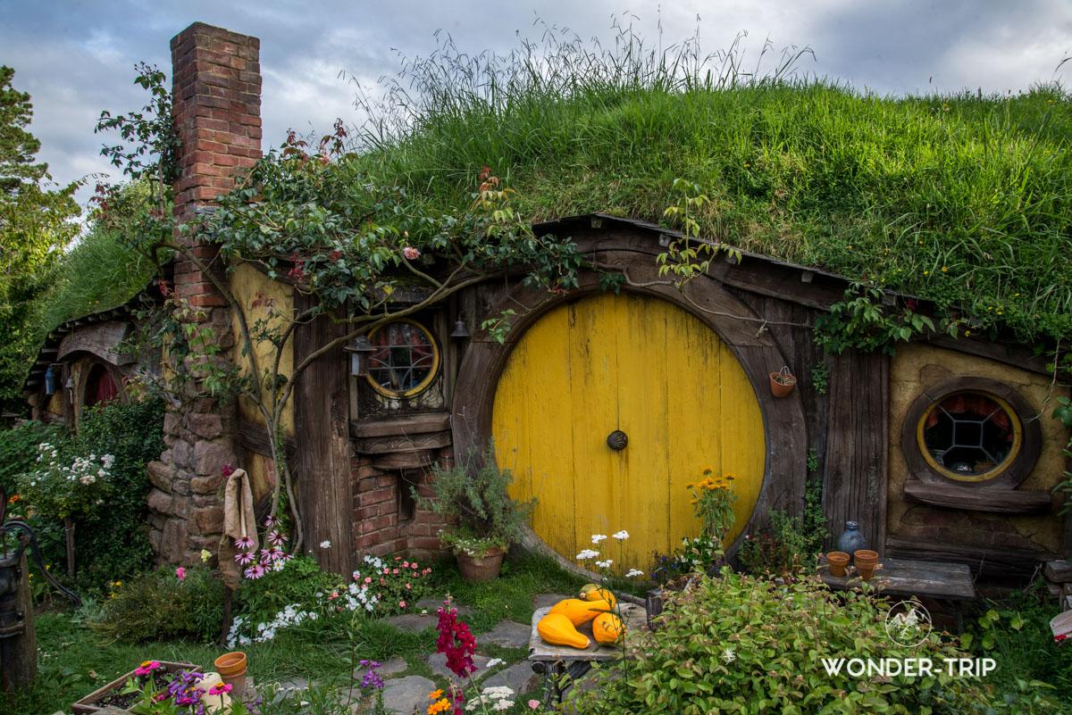 Hobbiton Village hobbits - Maison de Sam