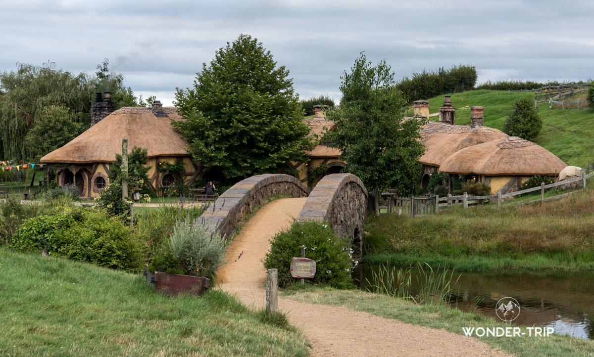 Hobbiton Village hobbits en Nouvelle-Zélande