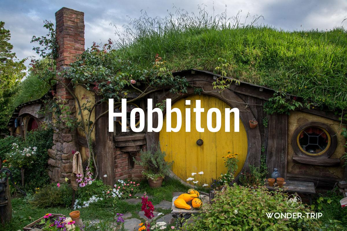 Destination populaire Nouvelle-Zélande - Hobbiton