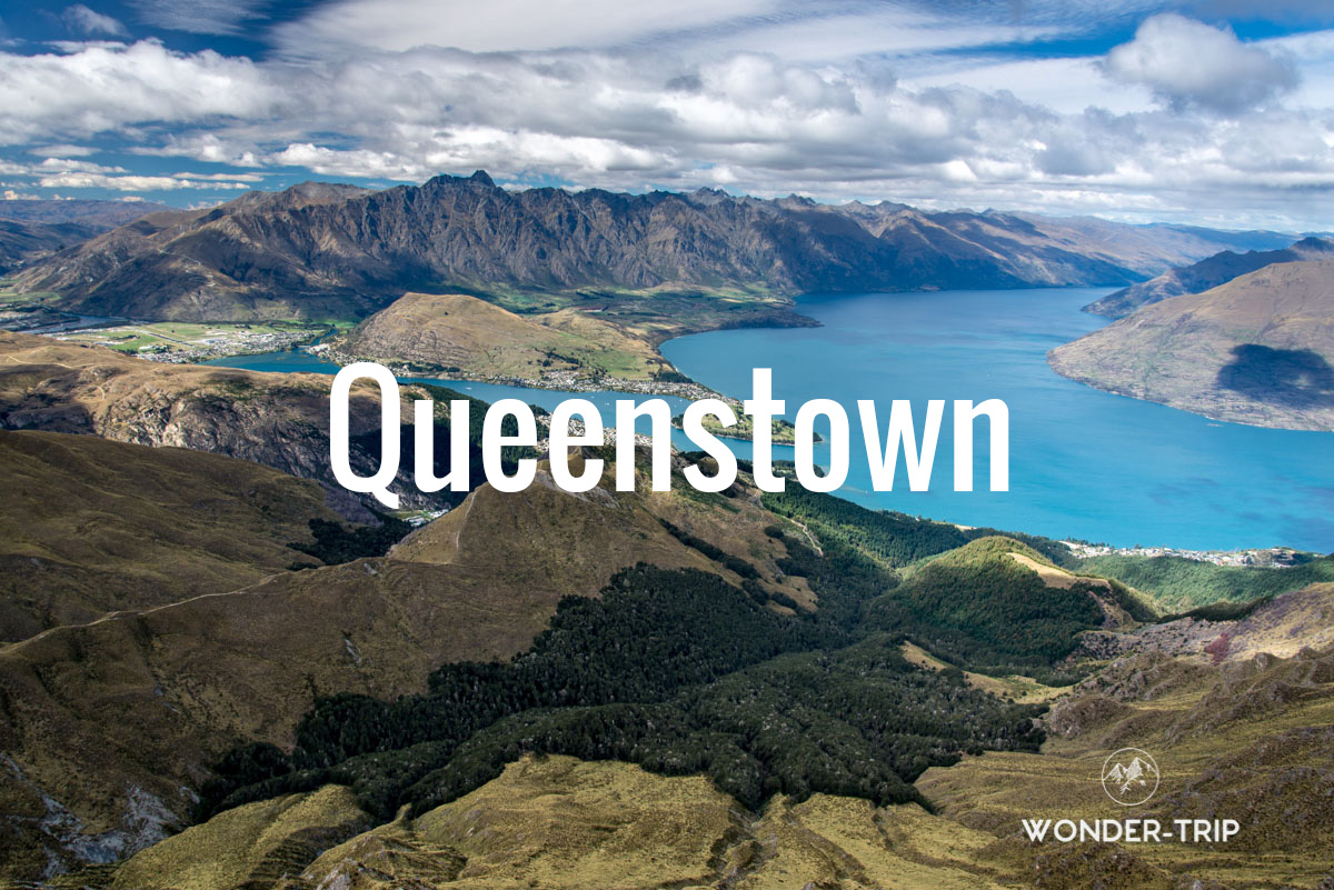 Destination populaire en Nouvelle-Zélande - Queenstown
