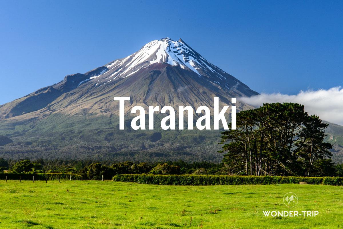Destination populaire Nouvelle-Zélande - Taranaki