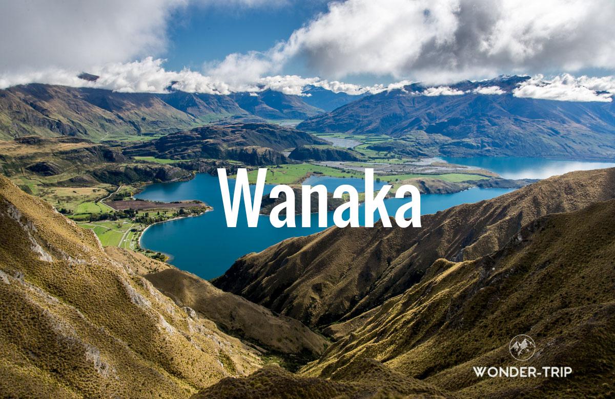 Destination populaire Nouvelle-Zélande - Wanaka