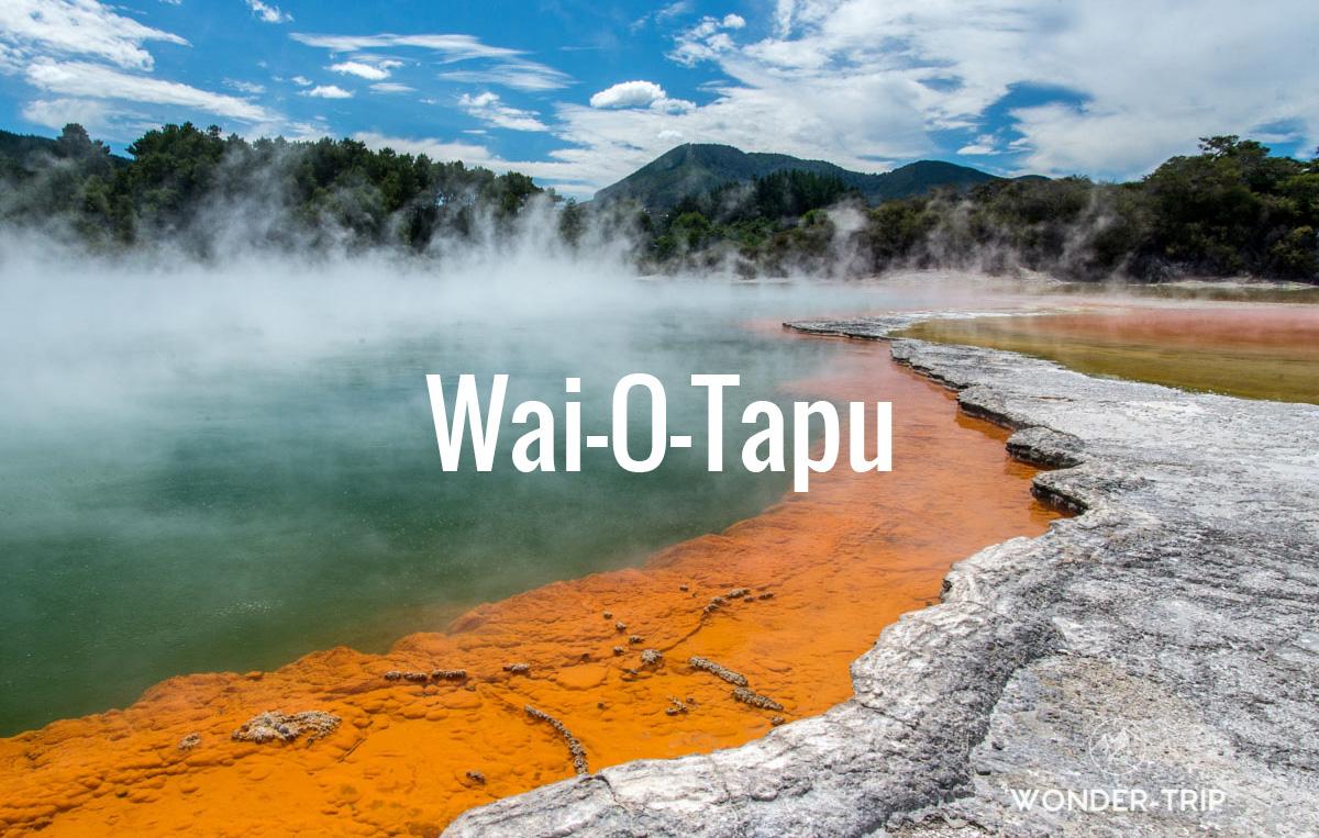 Destination populaire Nouvelle-Zélande - Waiotapu