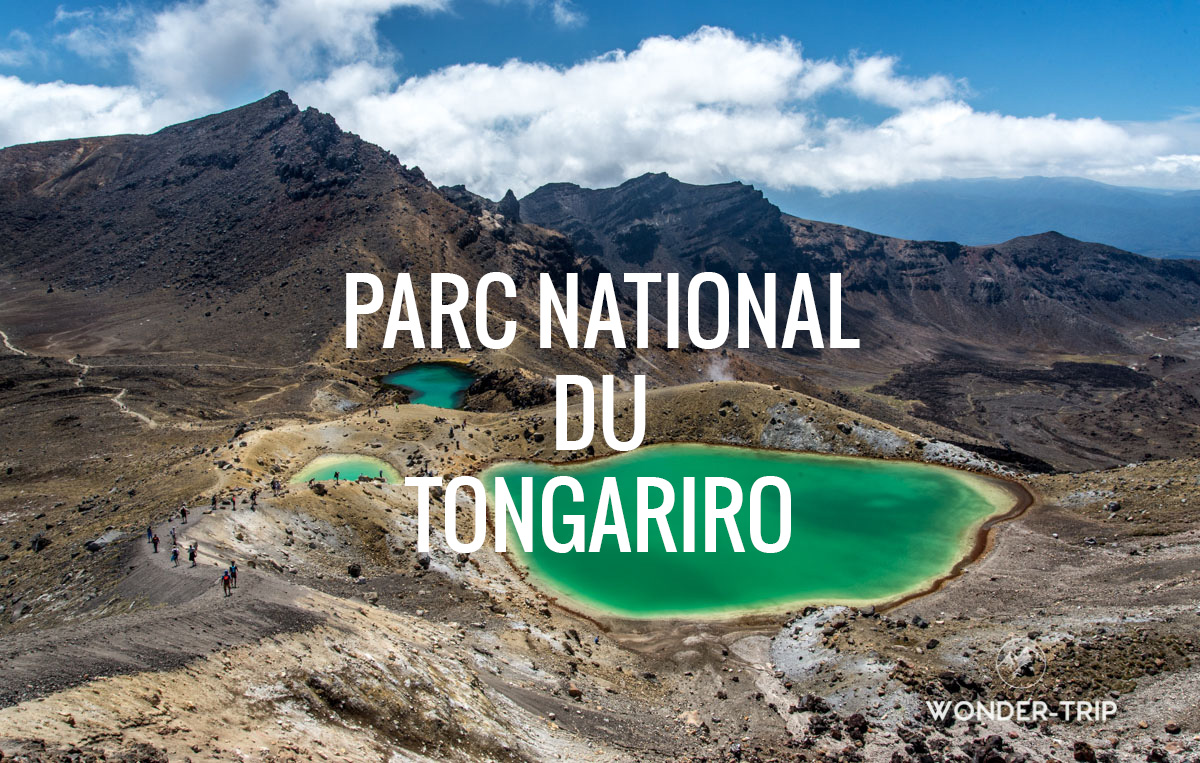 Destination populaire Nouvelle-Zélande - Parc national du Tongariro