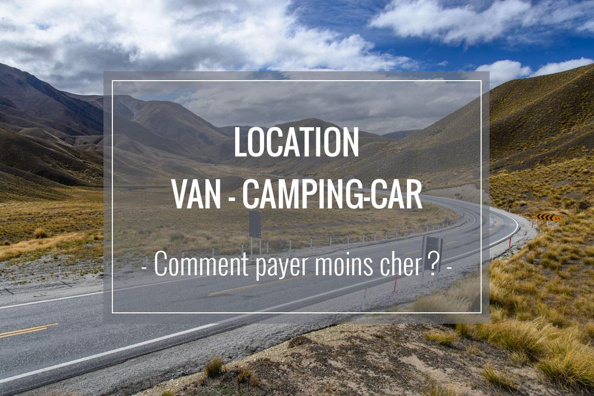Comment payer moins cher sa location de van ou camping-car en Nouvelle-Zélande ?