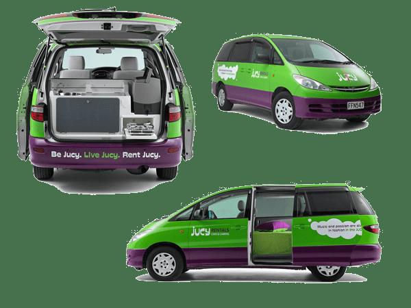 Quel véhicule louer en Nouvelle-Zélande - Minivan ou Monospace
