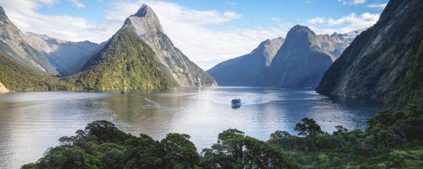Croisière dans le fjord de Milford Sound