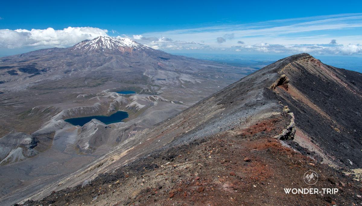 Panorama depuis mont Ngauruhoe