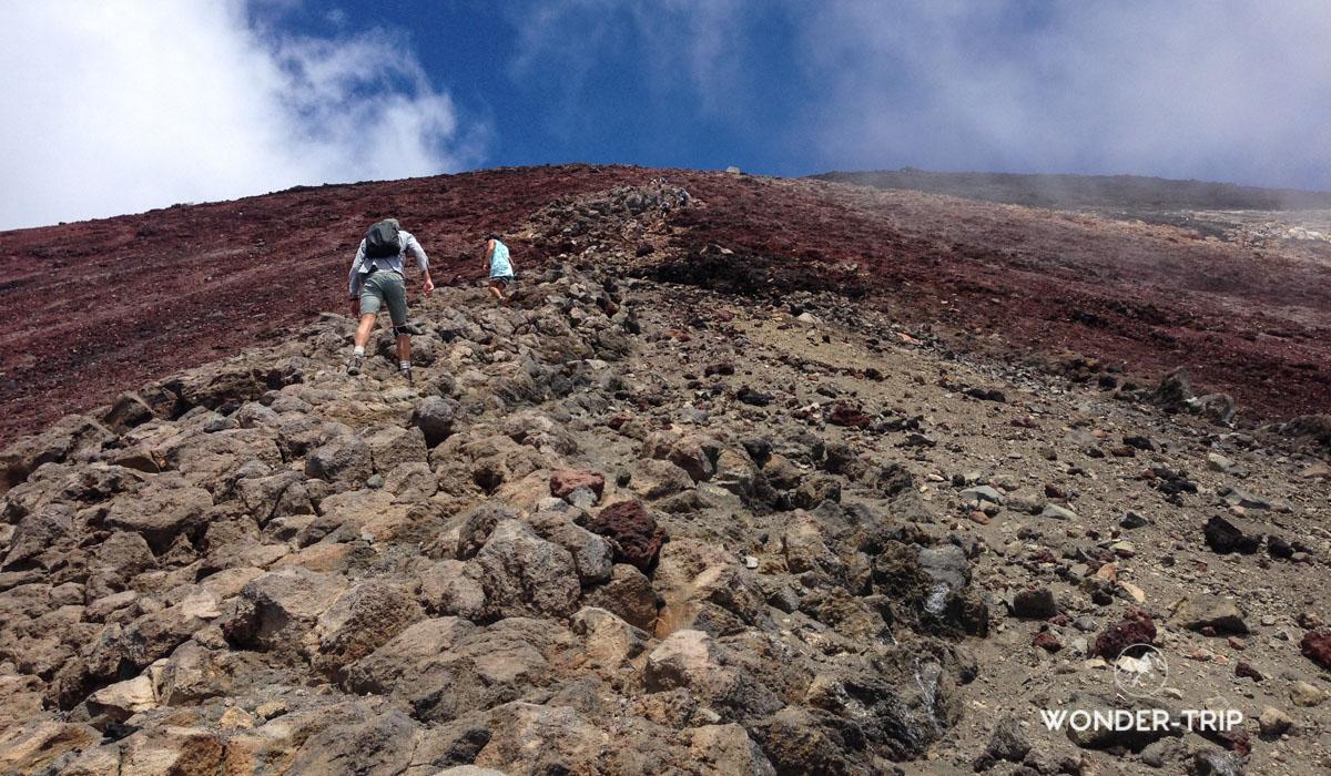 Montée du mont Ngauruhoe