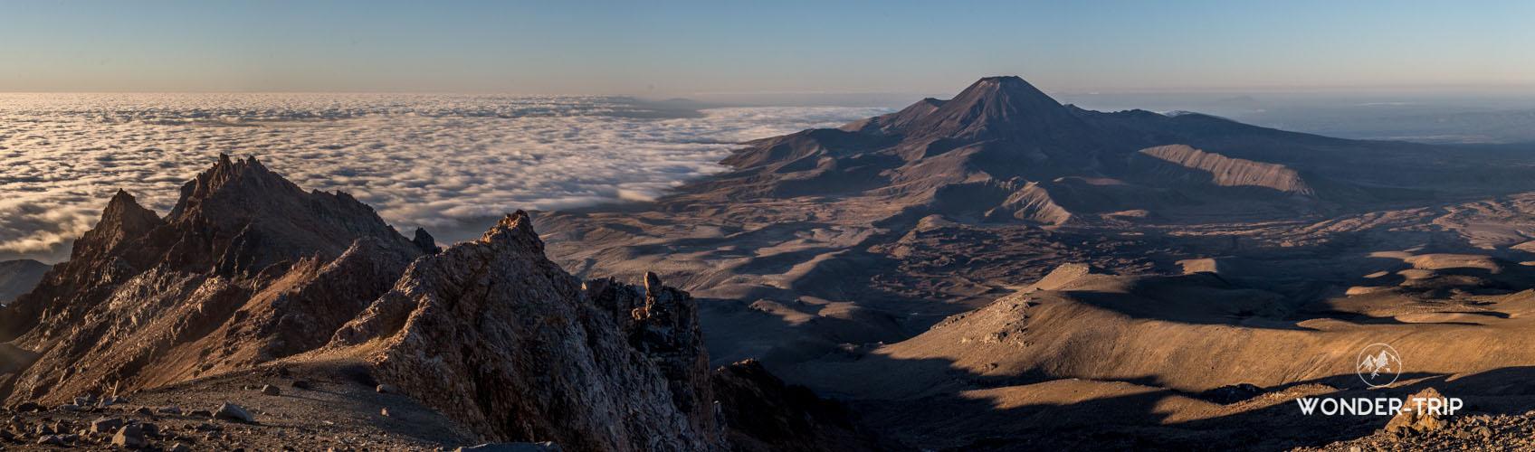 Panorama depuis le mont Ruapehu