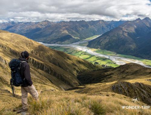 Mont Shrimpton – Randonnée du Haast pass en Nouvelle-Zélande