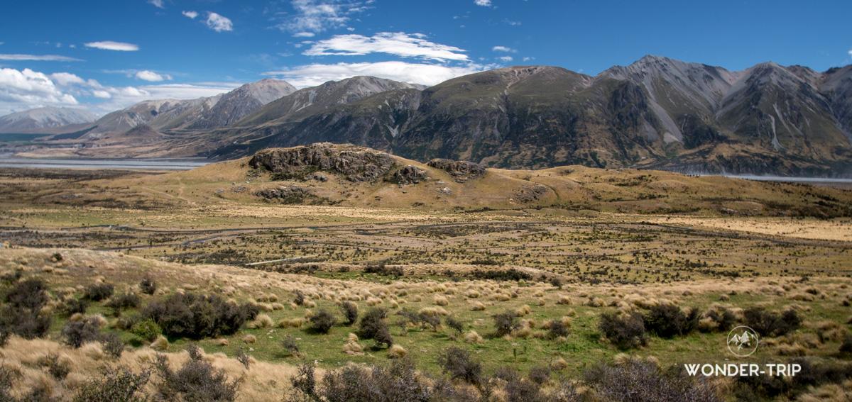 Hakatere Conservation Area - Alentour du mont Sunday