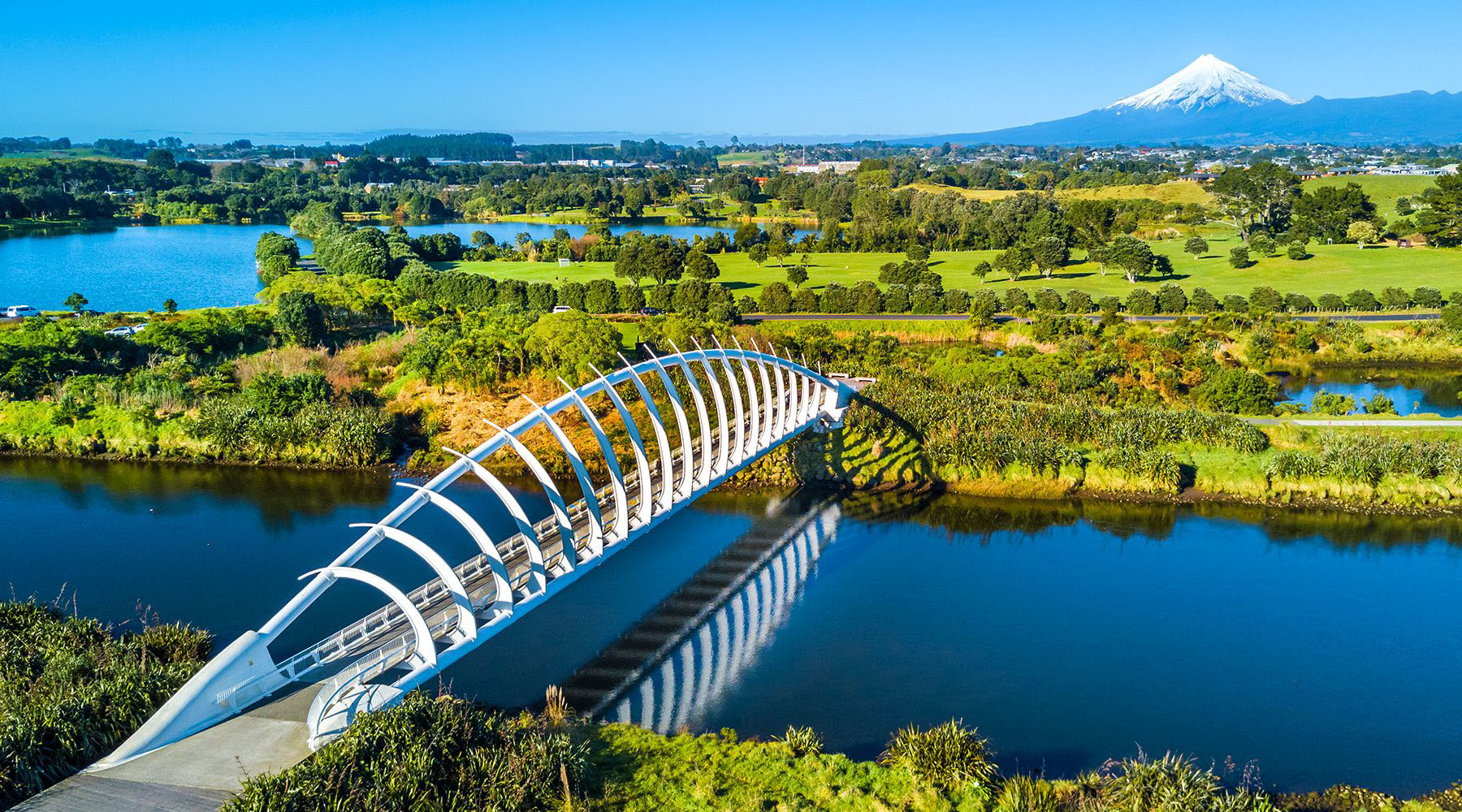 Te Rewa Rewa Bridge - New Plymouth