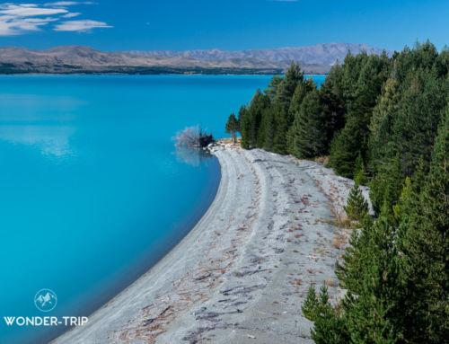 Lac Pukaki : randonnées et lieux d'intérêt autour du lac et Twizel
