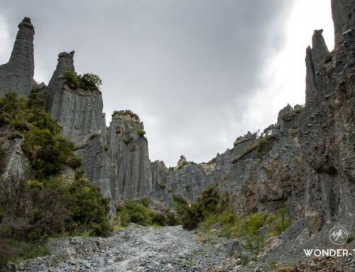 Putangirua pinnacles : randonnée dans les paysages du seigneur des anneaux