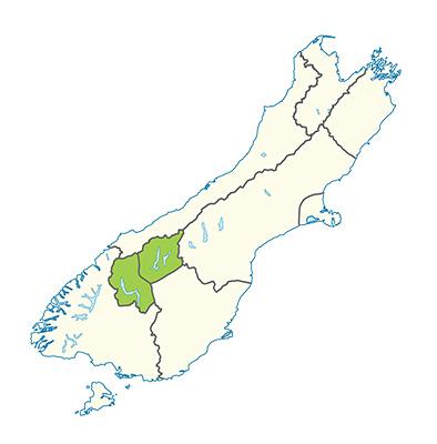 Carte de la région de Queenstown et Wanaka - Quand partir ?