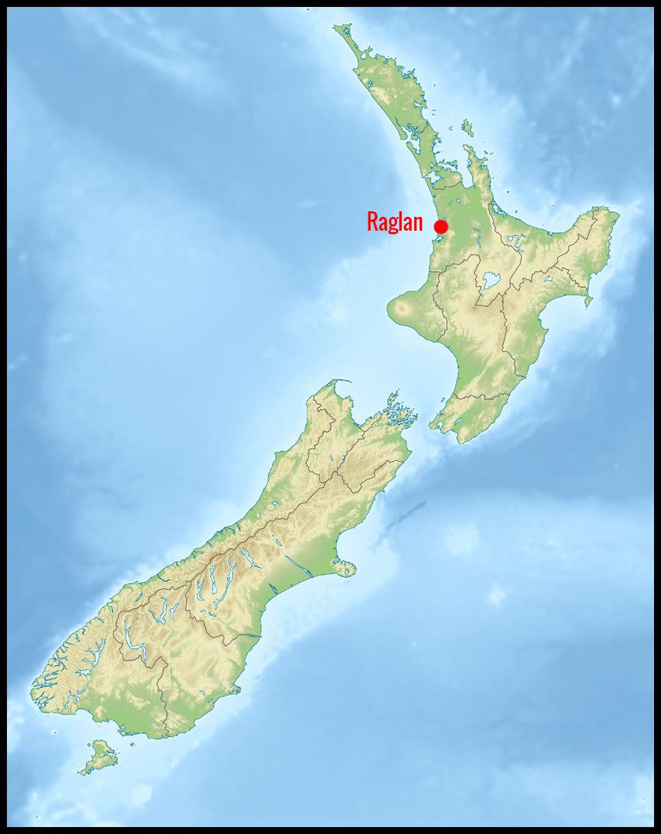 Raglan en Nouvelle-Zélande