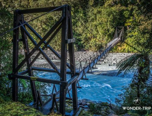 Roberts Point Track : randonnée aux ponts suspendus du Franz Josef glacier