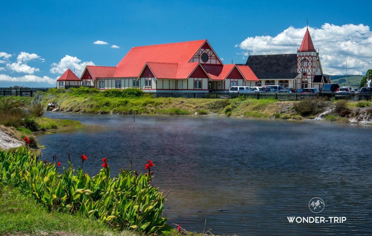 Visiter Rotorua - Ohinemutu village