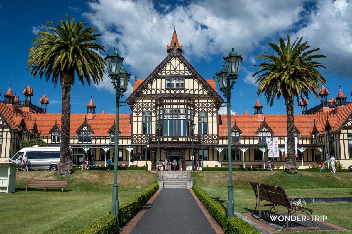 Visiter Rotorua - Rotorua museum